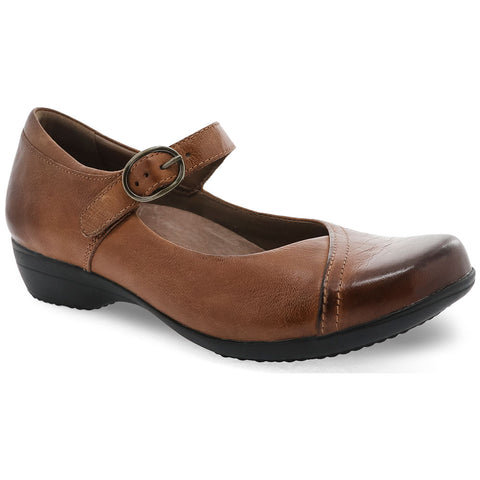 Fawna in Chestnut Leather