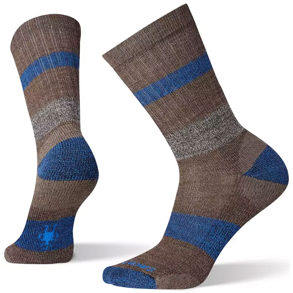 Smartwool Men's Barnsley Crew Socks in Chestnut at Mar-Lou Shoes
