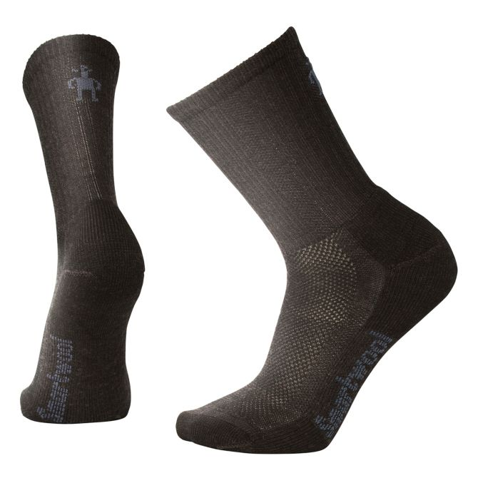 Men's Hike Ultra Light Crew Socks in Chestnut
