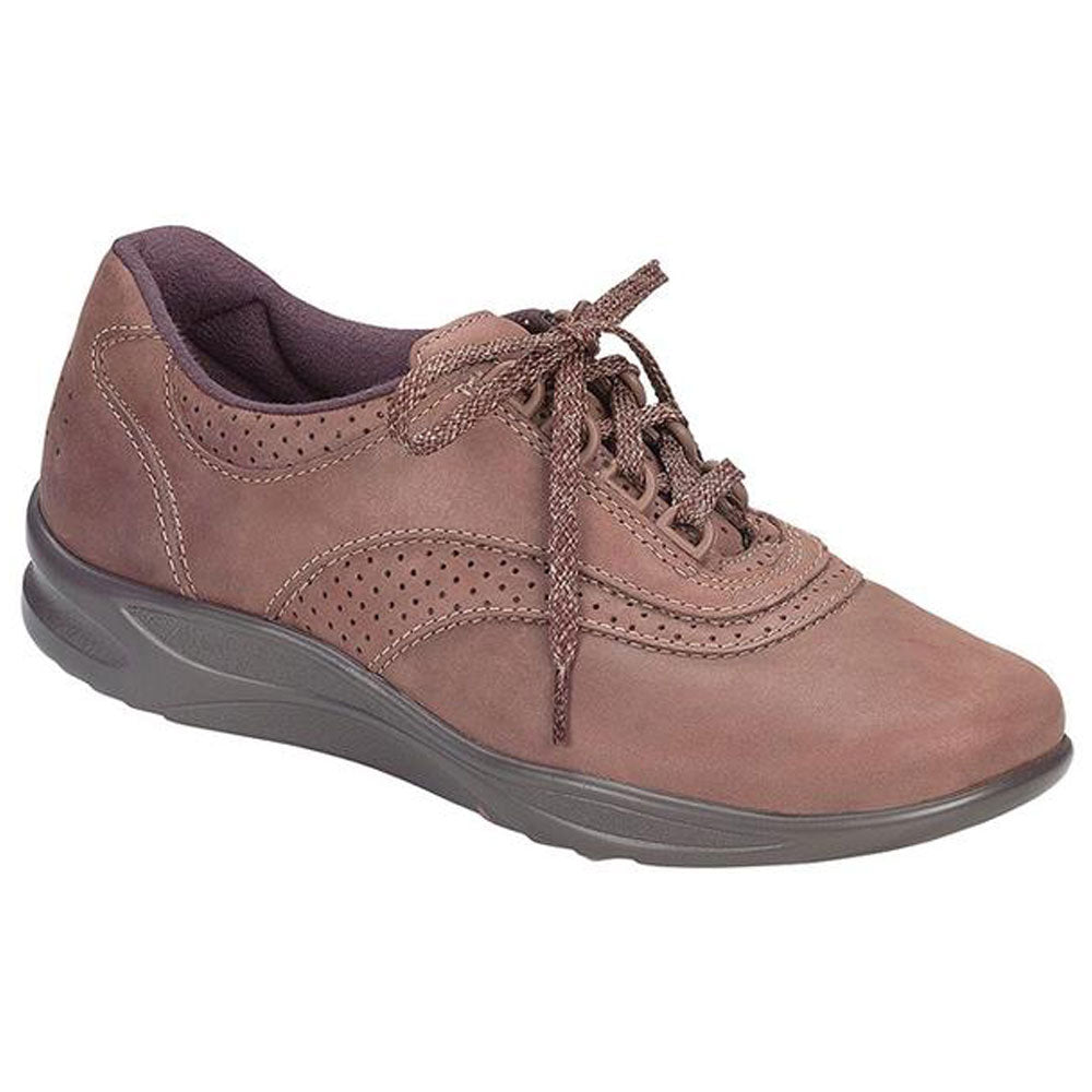 SAS Walk Easy in Chocolate Nubuck at Mar-Lou Shoes