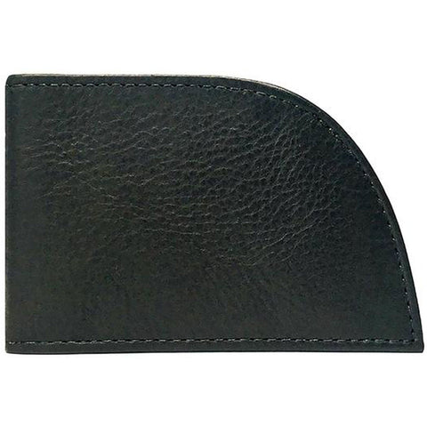 Classic Rogue Front Pocket 3-Slot Wallet in Black Leather at Mar-Lou Shoes