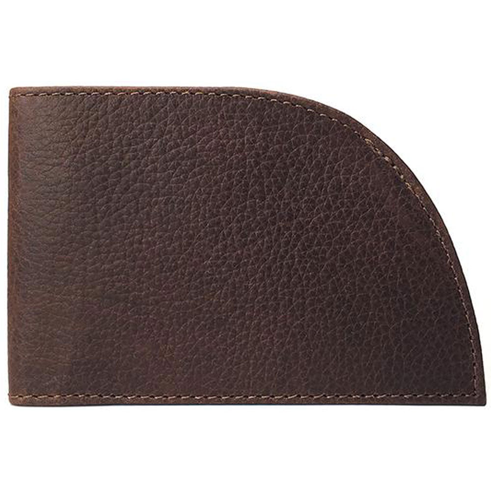 Classic Rogue Front Pocket 6-Slot Wallet in Bourbon Leather at Mar-Lou Shoes