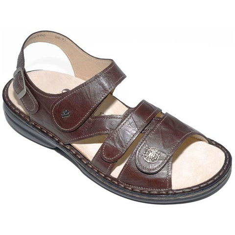 Gomera Sandal in Coffee Leather