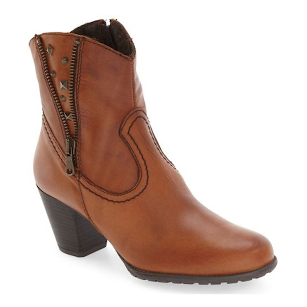 Kiki Boot in Cognac Leather