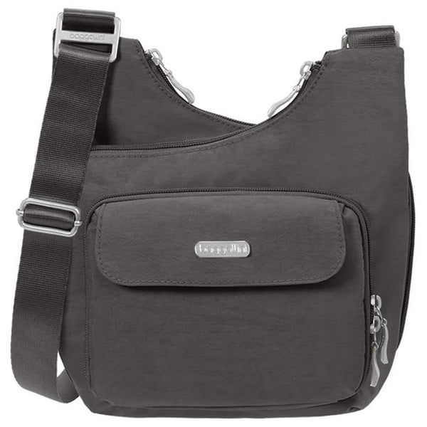 Criss Cross Bagg in Charcoal