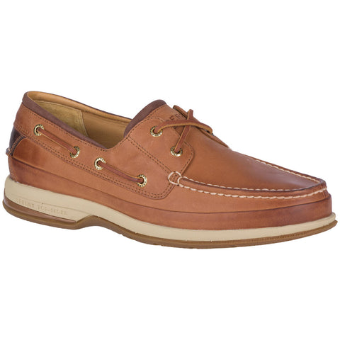 Gold Cup Boat Shoe with ASV in Cymbal