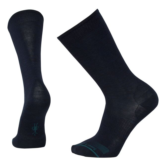 Men's Anchor Line Socks in Deep Navy Heather