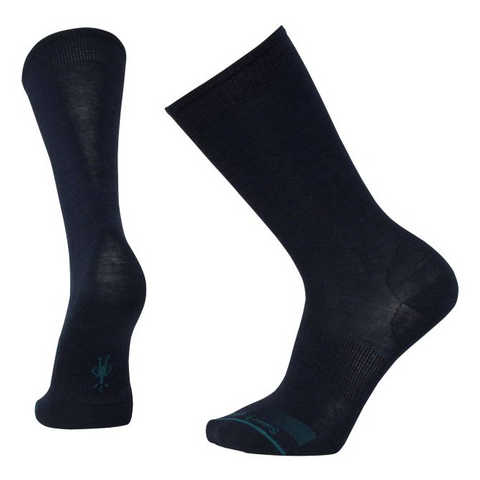 Anchor Line Socks in Deep Navy Heather