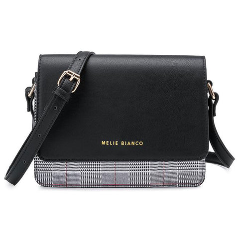 Desi Crossbody in Saddle or Black