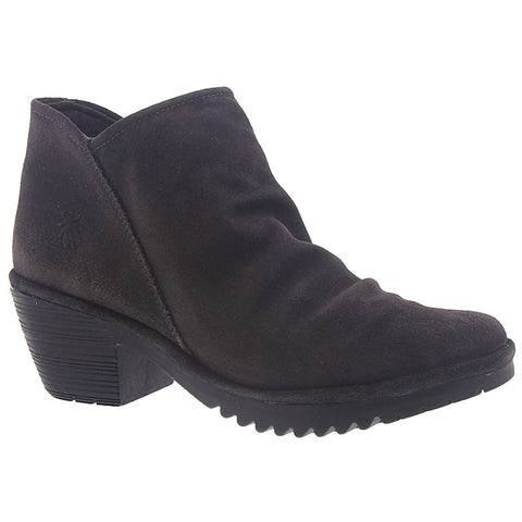 Wezo Booties in Diesel Oil Suede