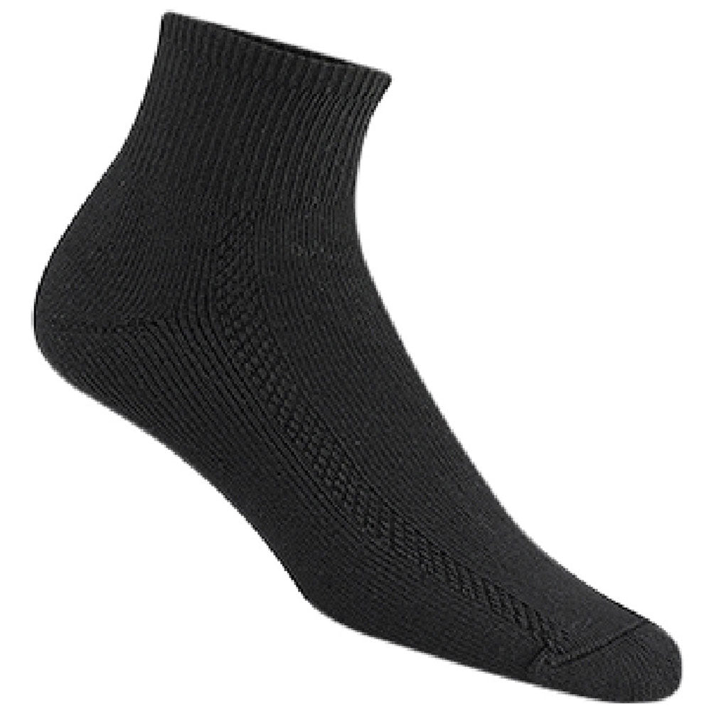Wigwam Women's Distance 2 Pack Socks in Black at Mar-Lou Shoes