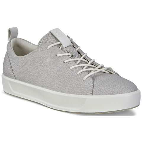 ECCO Women's Soft 8 Sneaker in Wild Dove Leather at Mar-Lou Shoes