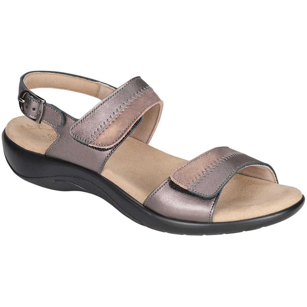 Nudu Sandal in Dusk Metallic Leather