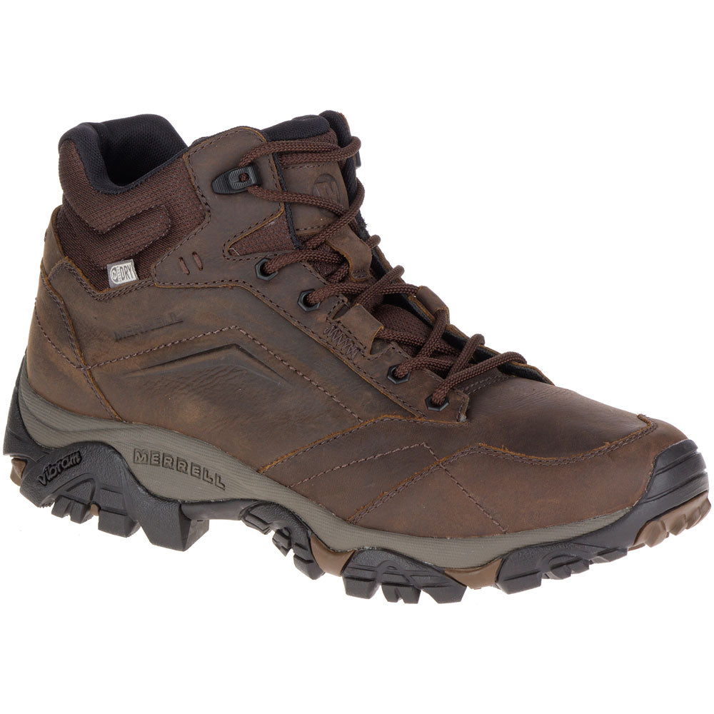Moab Adventure Mid Waterproof Boot in Dark Earth