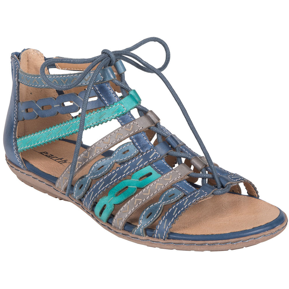 Tidal Sandals in Multicolor Blue