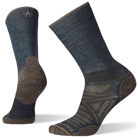 Smartwool Men's PhD® Outdoor Light Hiking Crew Socks in Everglade at Mar-Lou Shoes
