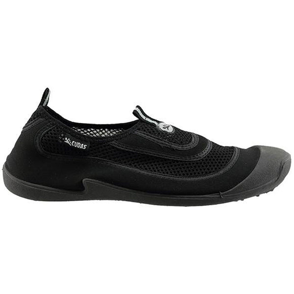 Men's Flatwater Water Shoes in Black Mesh