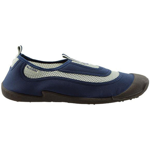 Men's Flatwater Water Shoes in Navy Mesh