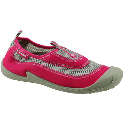 Women's Flatwater Water Shoes in Pink Mesh