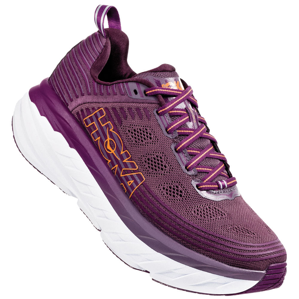 Women's Bondi 6 in Artic Dusk/Grape Juice From HOKA found at Mar-Lou Shoes
