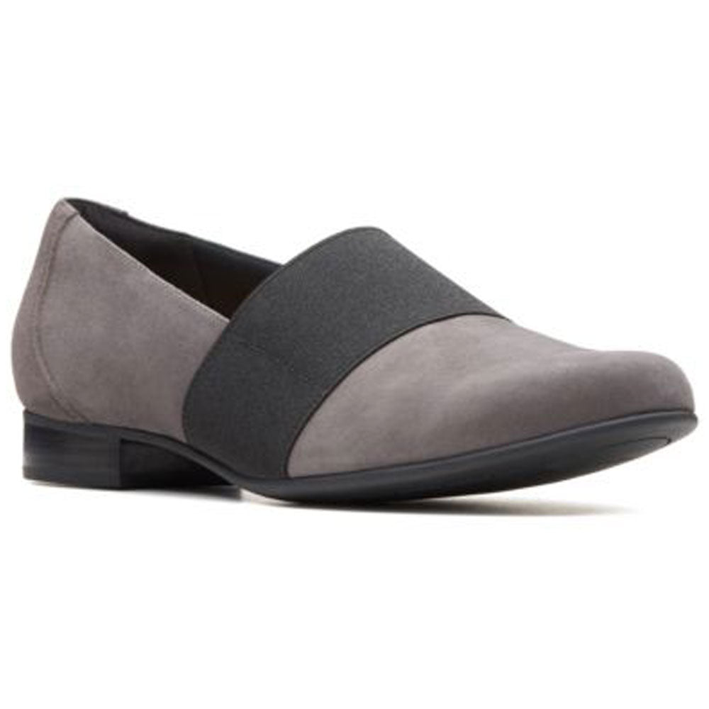 Un Blush Lo in Dark Grey Suede