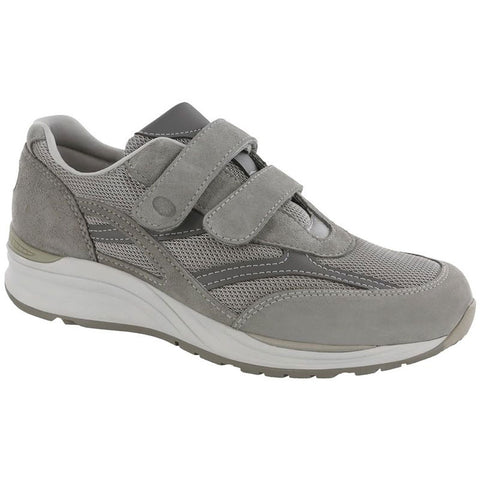 SAS JV Mesh in Grey at Mar-Lou Shoes