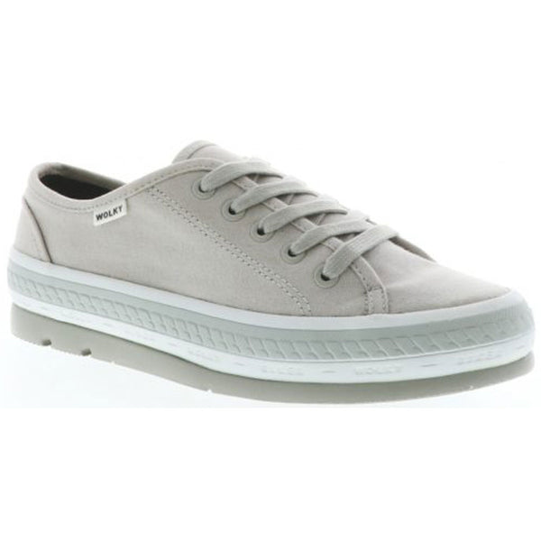 Linda in Light Grey Canvas