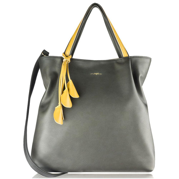 Espe Angel Tote in Grey at Mar-Lou Shoes