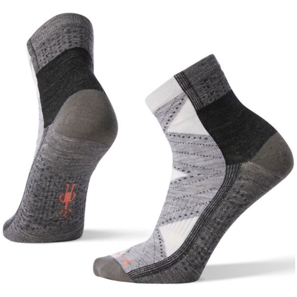 Women's Arrow Dreamer Mid-Crew Socks in Grey
