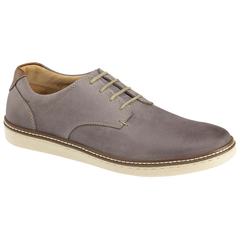 McGuffey Plain Toe Oxford in Grey Leather