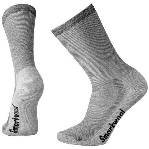Hike Medium Crew Socks in Gray