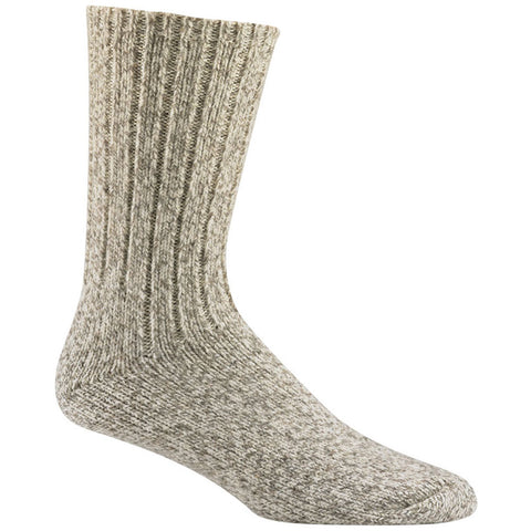 Wigwam Women's El Pine Crew in Grey Twist  Grey Twist at Mar-Lou Shoes