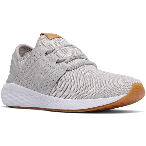 Women's Fresh Foam Cruz v2 Knit in Rain Cloud with White Munsell