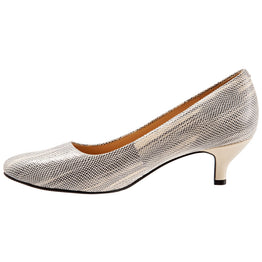 c8414181a6ec4 Kiera in Grey Embossed Leather Kiera in Grey Embossed Leather