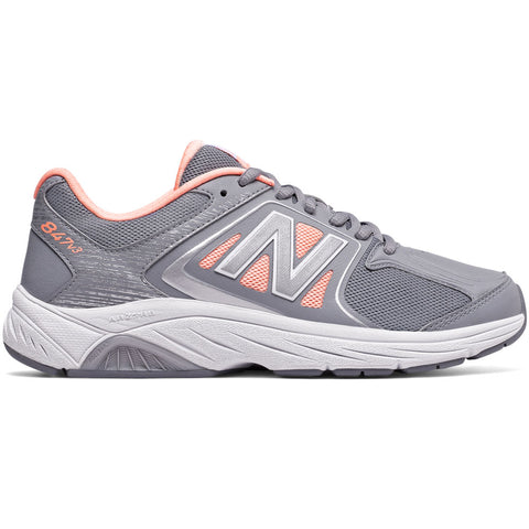 Womens 847v3 in Grey with Luxe Pink