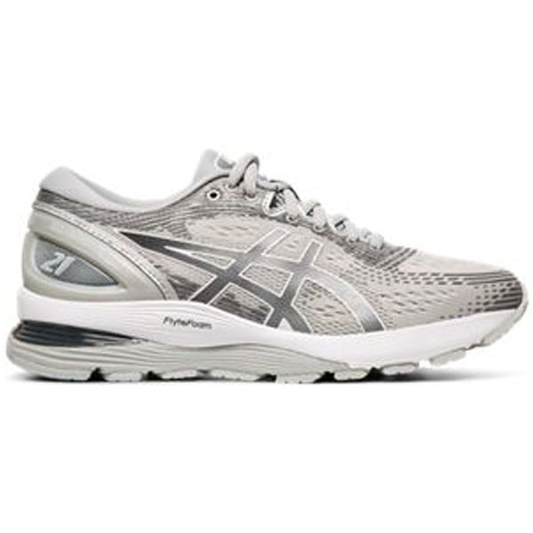 GEL-Nimbus 21 in Mid Grey/Silver
