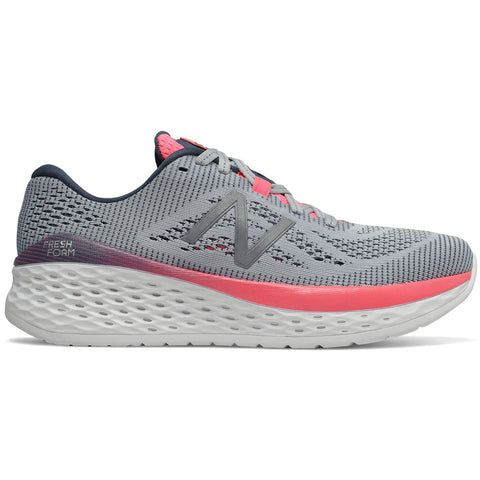 New Balance Women's Fresh Foam More in Light Cyclone with Guava and Reflection at Mar-Lou Shoes