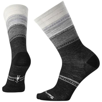 Sulawesi Stripe Socks in Charcoal Heather