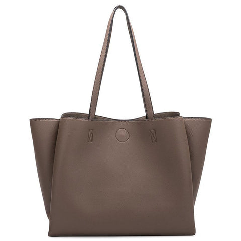Kaia Shoulder Bag in Saddle, Taupe or Black