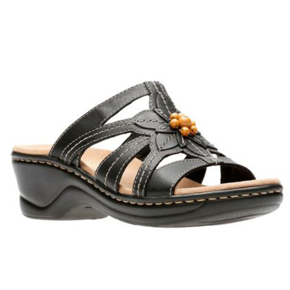 Lexi Myrtle Sandal in Black Leather