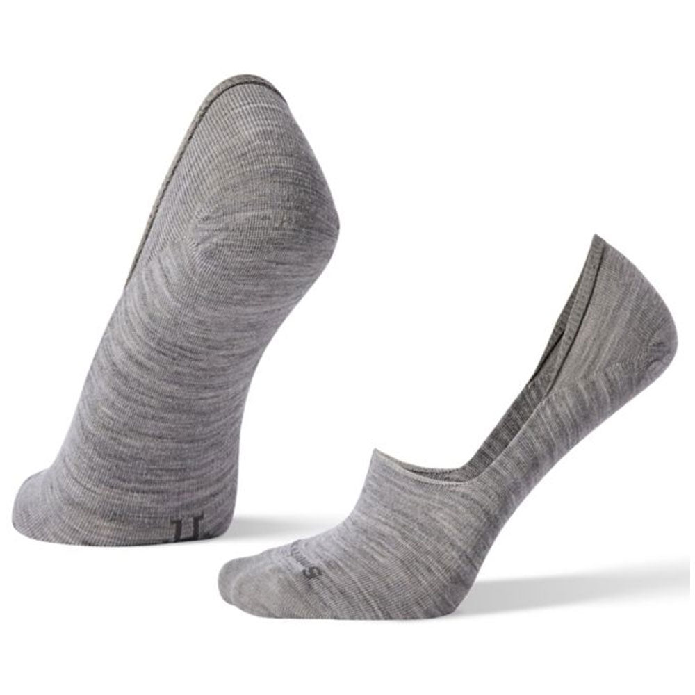 Smartwool Women's Hide And Seek No Show Socks in Light Grey at Mar-Lou Shoes