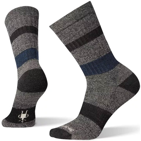Smartwool Men's Barnsley Crew Socks in Light Grey at Mar-Lou Shoes