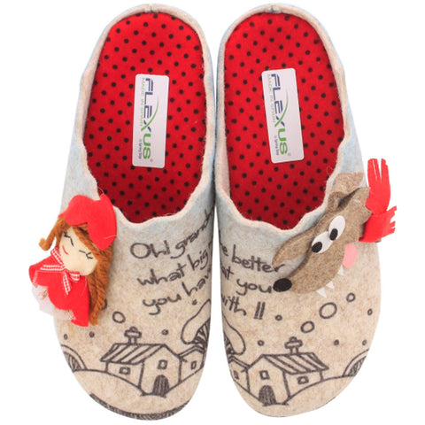Lilred Slipper in Beige