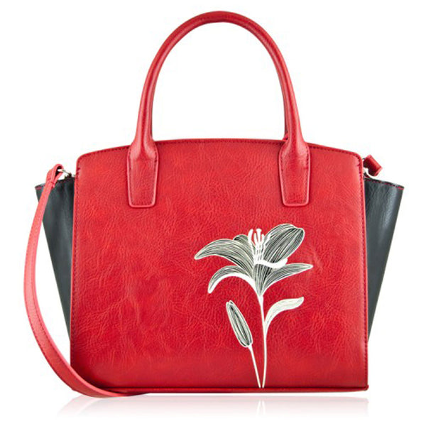 Lily Mini Tote in Red