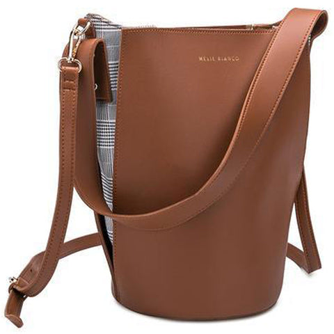 Luna Shoulder Bag in Saddle