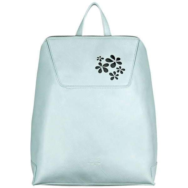 Espe Macy Backpack in Aqua at Mar-Lou Shoes