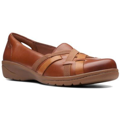 Cheyn Creek in Mahogany/Tan Leather Combi