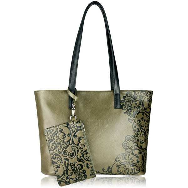 Majestic Tote in Green