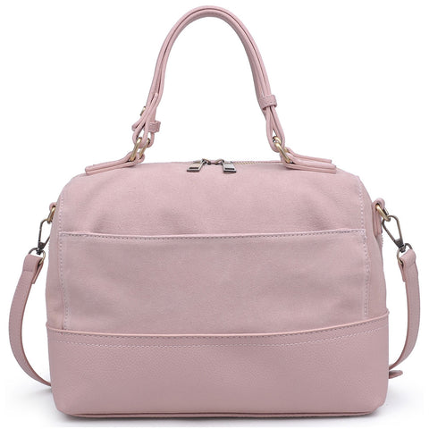 Matilda Satchel in Blush