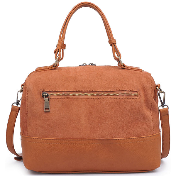 Matilda Satchel in Tan